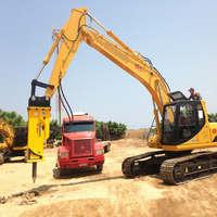 Locação de rompedor hidráulico para escavadeira