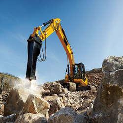 Locação de martelos hidráulicos