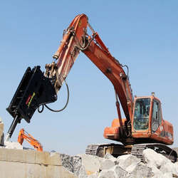 Rompedor hidráulico para escavadeira