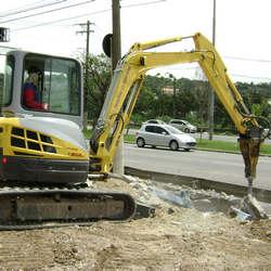 Rompedor para escavadeira