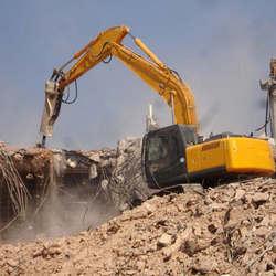 Martelo hidráulico para escavadeira
