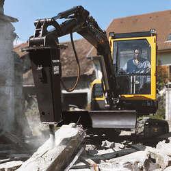 Martelo para escavadeira