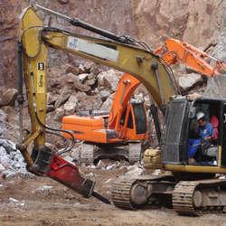 Rompedores para escavadeiras
